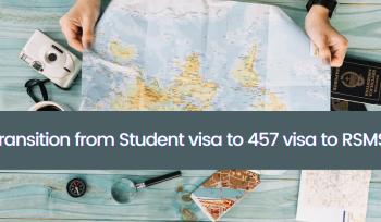 Transition from Student visa