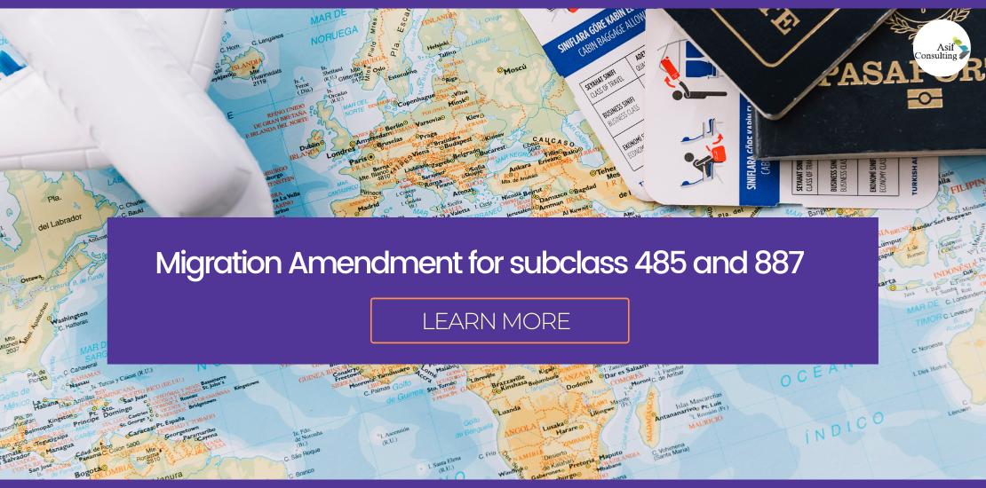 Migration Amendment