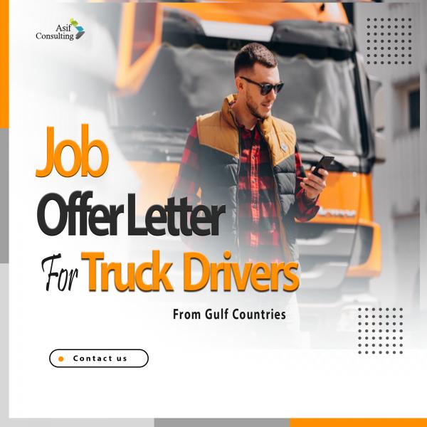 truck drivers job offer