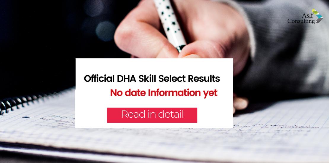 DHA Skill Select Results
