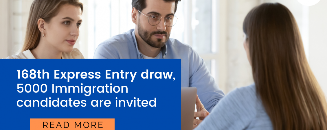 168th Express Entry draw