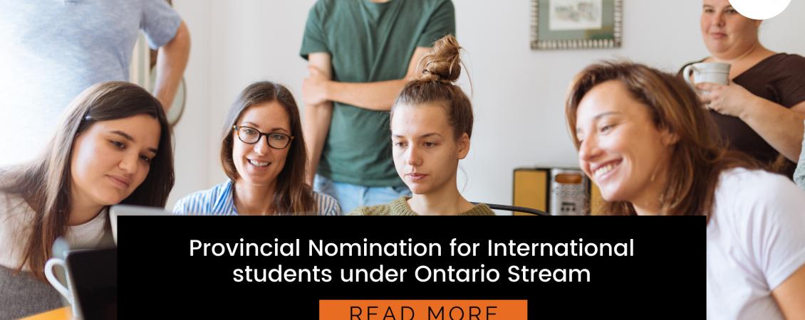 Ontario Provincial Nomination