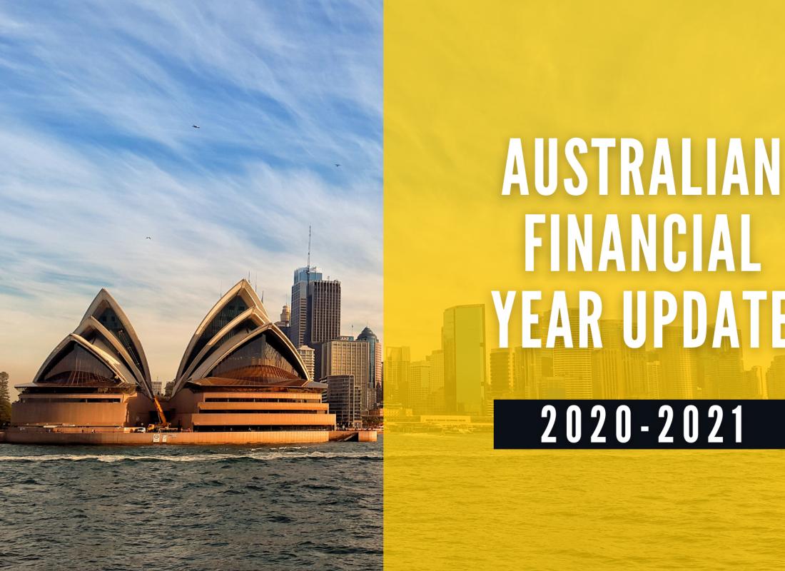 Australian Financial Year Update