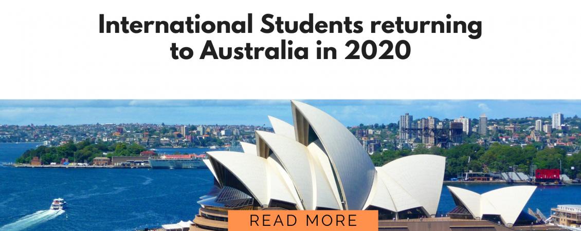 International Students return
