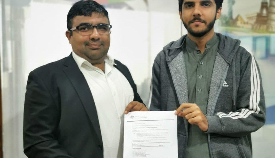 Australian Student Visa Subclass 500 (Nouman)