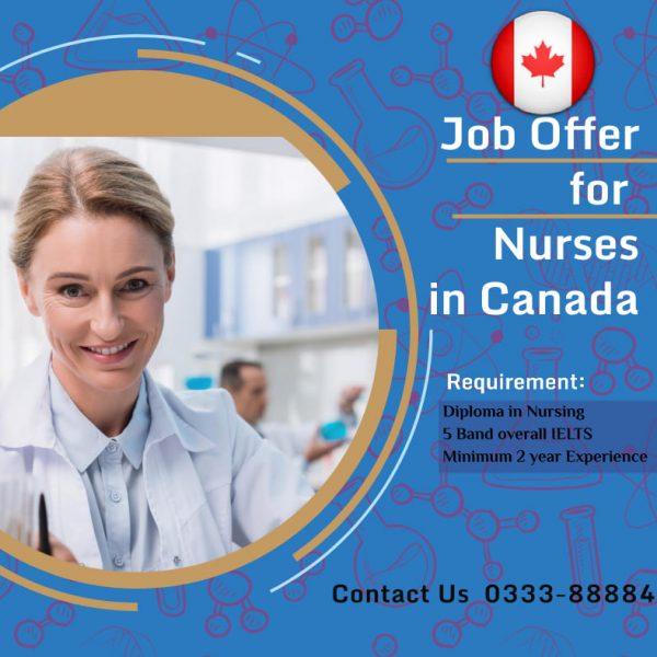 nurses in canada