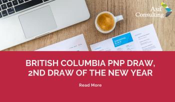 British Columbia PNP Draw