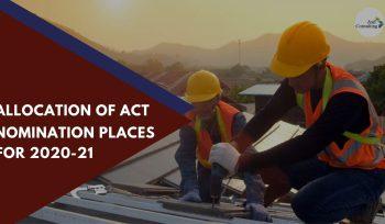ACT Nomination Places