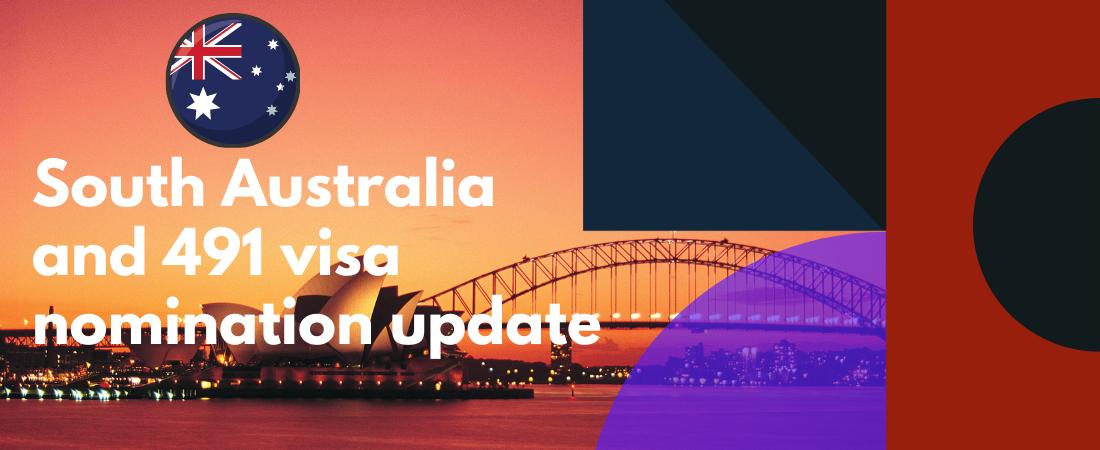 South Australia and 491 visa