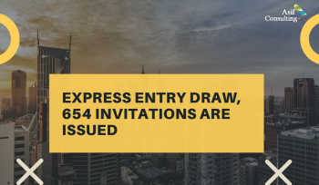 654 Express Entry Draw