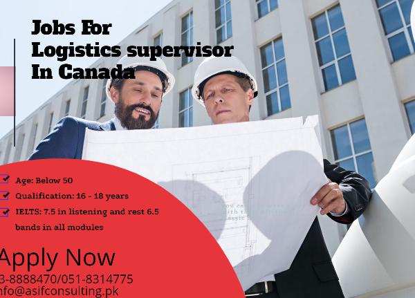 Logistics Supervisor in Canada