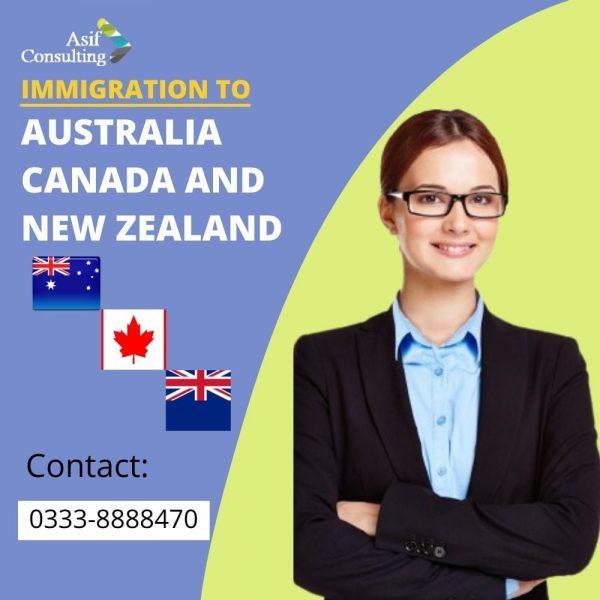 immigration to australia canada and newzealand