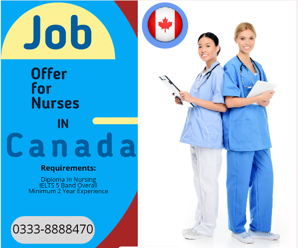 job offer for nurses in canada