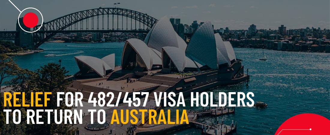482/457 visa holders