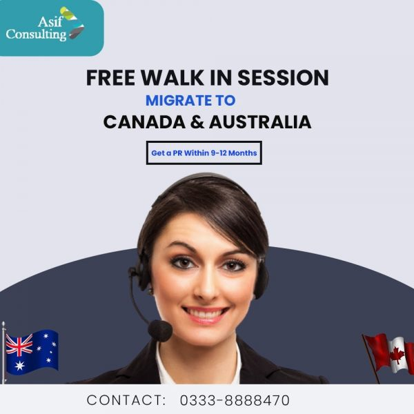 Migrate to Canada and Australia