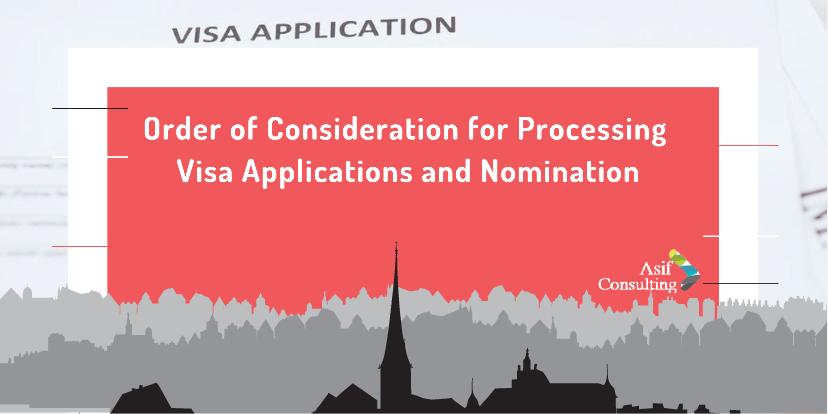Processing Visa applications