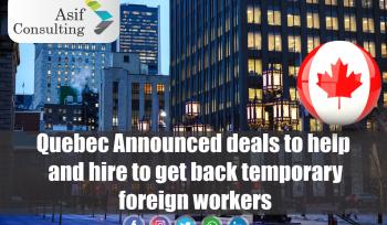 Quebec Announced