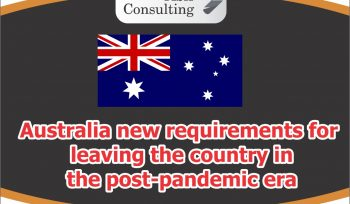 Australia new requirements