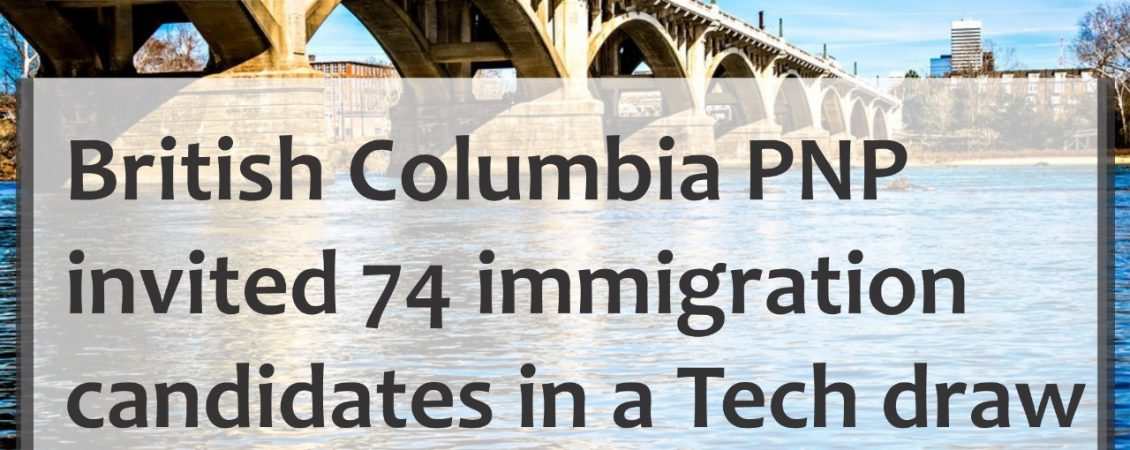 74 immigration candidates