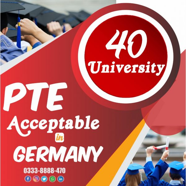 PTE is accepted in Germany