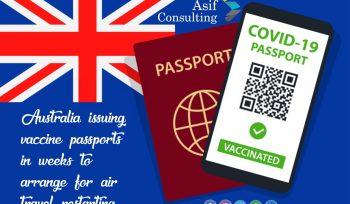 Vaccine visa