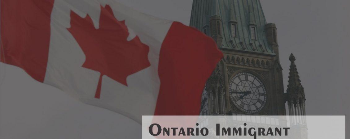 Ontario Immigrant