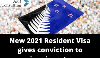 2021 Resident Visa